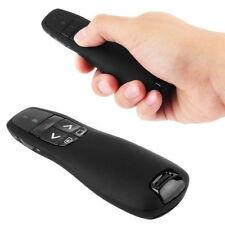 Black 2.4Ghz for Logitech Wireless Presenter R400 with Red Laser Pointer Pen R8