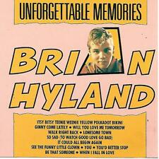 BRIAN HYLAND Unforgettable Memories Itsy Bitsy Teenie Weenie / Ginny Come Lately
