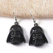 STAR WARS DARTH VADER BOTTLE CAP EARRINGS