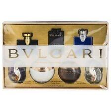 Bvlgari 7 Pces Mini Set For Men & Women 7x0.17 oz /5ml Splash New In Box