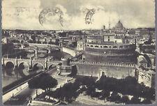 ROMA - IL TEVERE E CASTEL S. ANGELO - V 1954 - FG