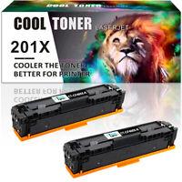 2PK Toner Compatible for HP CF400X 201X Laserjet Pro MFP M277DW M252DW M277c6