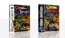 Shining the Holy Ark Sega Saturn Replacement Case + Box Art Work Cover No Game