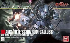 Gundam Unicorn 1/144 HGUC AMX-101E Schuzrum Galluss Model Kit Bandai