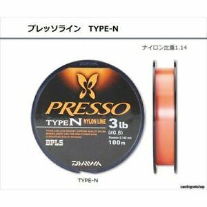 Daiwa Presso Line TYPE-N 100m PRESSO LINE TYPE-NYLON 2 LB Ship From Japan