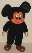 """Vintage 9"""" Pedigree Mickey Mouse California Stuffed Toys Plastic Face,Hands,Feet"""