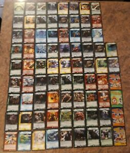 74 Duel Masters Cards Job Lot Bundle 2004