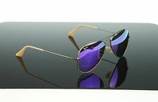 NEW Genuine RAYBAN Original Aviator Purple Green Mirror Sunglasses RB 3025 1671M