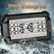 "1Pcs 5"" 84W LED Work Light Bar Flood Spot Pods Driving Off-Road Tractor 4WD 12V"
