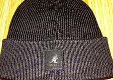 Kangol Headwear Patch Beanie  Pull On Hat  Color  Black