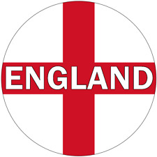 30 ENGLAND PREMIUM 4cm RICE PAPER WORLD CUP CAKE TOPPERS ST GEORGES DAY CROSS D3