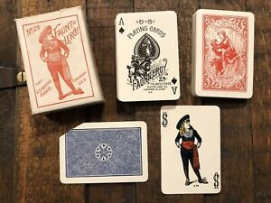 Full Deck US Playing Cards Fauntleroy Dearest Back Antique Vintage USPCC Mini