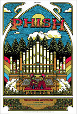 2011 PHISH ALPHARETTA CRICKET ORGAN CONCERT TOUR POSTER 6/14 15 GA SIGNED AP