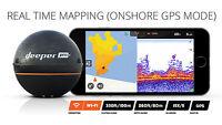 Deeper Smart Sonar PRO+ Echolot zum Werfen Kartenplotter GPS WIFI Fishfinder