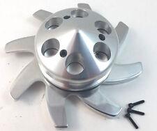 Chevy Alumunum Alternator Pulley W/ Aluminum Fan Kit SBC BBC GM Hot Rod Rat Rod