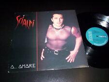 """Scialpi – A...Amare 12"""" RCA Italiana – PT 44792 ITALY 1991"""