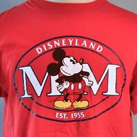 Disneyland Mickey Mouse Inc MM L T-Shirt Large Mens Disney Est 1955 Made In USA