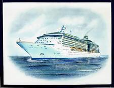 Original Art Work ...ms BRILLIANCE of the SEAS...cruise ship... RCI