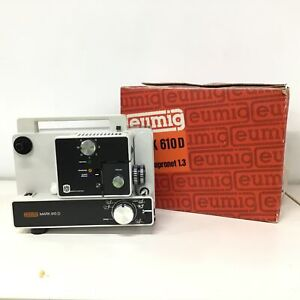 Eumig Mark 610 D Dual 8 Silent Movie Projector *Parts Only* #454