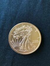 New Listing1 oz. Bullion Eagle Liberty Round One Troy Ounce .999 pure mint copper coin