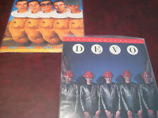 DEVO BEST OF U.K.PRESSED DELUXE 180 GRAM 2 LP'S + JAPAN 1980 FREEDOM OF CHOICE