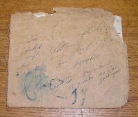 Antique 1848 School Copy Book - Filled Up - Perhaps German? #2