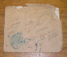 Antique 1848 School Copy Book - Filled Up - Perhaps German? #2
