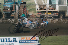 PAUL COOPER HAND SIGNED SCUNTHORPE SCORPIONS SPEEDWAY 6X4 PHOTO 5.