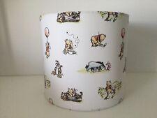 "20cm (8"") Winnie The Pooh Ceiling Shade Handmade Fabric Nursery/ Kids Bedroom"