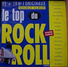 LE TOP DU ROCK&ROLL PUB TELE DOUBLE FRENCH LP