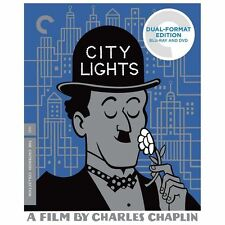 City Lights Blu-ray, 2-Disc, Criterion Collection Chaplin Dual Format O.P.