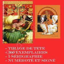 Tirage de Tete MIRALLES Djinn 10 300ex signé +ex-libris