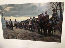 Mort Kunstler-Morgans Raiders- Limited Edition Print S/N 509 ESTATE SALE