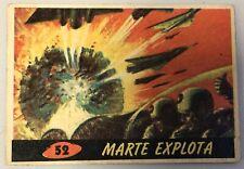 1966 MARS ATTACKS MARTE ATACA CARD ARGENTINA STANI #52