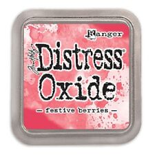 Tim Holtz Ranger Distress Oxide Ink Pad Festive Berries