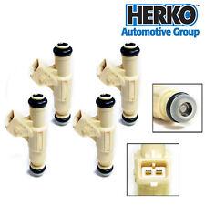Herko Fuel Injector Set of 4 For Ford Escort & Mercury Tracer 2.0L l4 1997-2000
