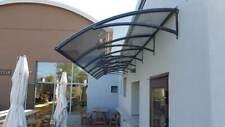 Auvent de porte DIY d'entrée fenêtre - auvent de polycarbonate - Modèl ONDA