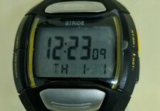 MIO Stride Unisex Sport Watch with Heart Rate Monitor / Pedometer,new battery.