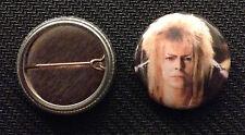 "David Bowie - Labyrinth - Jareth 1"" pin button - Dance Magic - Buy 2 Get 1 Free"