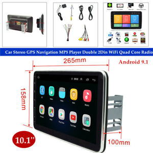 """10.1"""" Android 9.1 Car Stereo GPS Navigation MP5 Player Double 2Din WiFi Radio"""