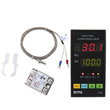 MYPIN® Universal Digital TA6-SNR PID Temperature Controller with Relay DIN 1/8