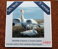 Canada 1989 Duck Hunting Permit Stamp in Pack - Unm.Mint (MNH) (Se1)