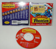 JumpStart Phonics knowledge adventure  kids 3-6 ,Pc cd ,Mac, Windows