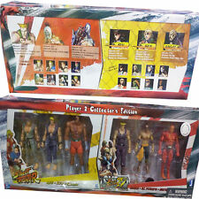 STREET FIGHTER SAGAT KEN GUILE SETH RYU ACTION FIGURE PLAYER 2 COLLECTOR EDITION