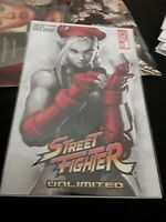 Street Fighter Unlimited #3 NM Udon Variant Cammy 1:20 Cover D