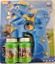 CHASE PAW PATROL BUBBLE GUN LED LIGHTS MUSIC + 2 SOLUTIONS KIDS TOYS + BATTERIES