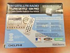 XM PRO Delphi SKYFi2 COMPLETE Satellite Radio & Vehicle KIT New in Sealed Box!