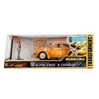 Transformers - 1971 Volkswagon Beetle Bumblebee 1:24 Hollywood Ride with figure