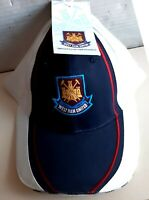 West Ham Football Club   White with blue panel  Baseball Cap Hat Fan  Crest, new