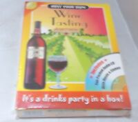 HOST YOUR OWN WINE TASTING EVENING Party/Drinking Game NEW SEALED